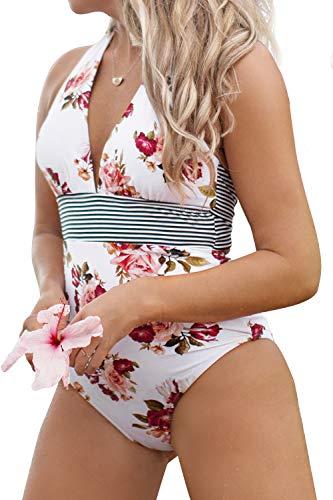 CUPSHE Hochsommer Blumen Badeanzug