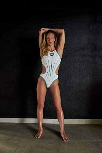 ARENA Damen Sport Badeanzug One Electric - 5