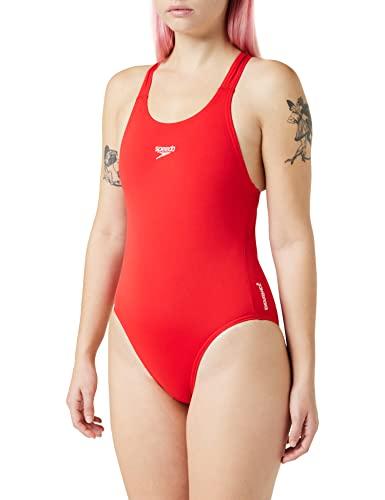 Speedo Damen Badeanzug, Rot
