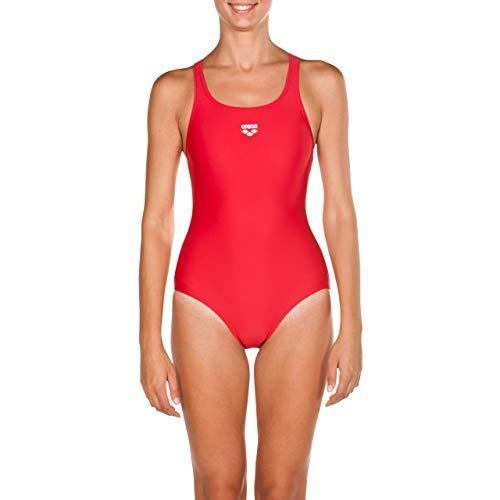arena Mädchen Sport Badeanzug, rot