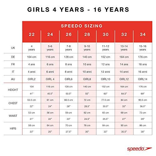 Speedo Badeanzug für Mädchen Blau - 8