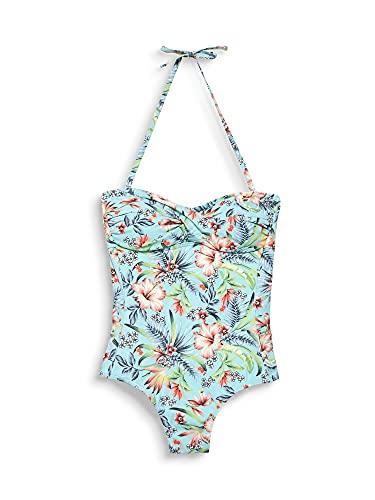 ESPRIT Damen South Beach Swimsuit, Blau/Türkis - 3