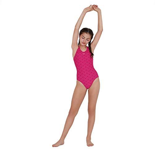 Speedo Boomstar Badeanzug Mädchen, Pink - 2