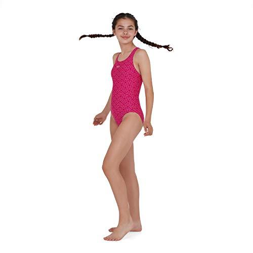 Speedo Boomstar Badeanzug Mädchen, Pink - 3