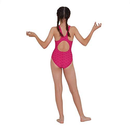 Speedo Boomstar Badeanzug Mädchen, Pink - 4