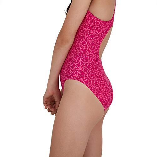 Speedo Boomstar Badeanzug Mädchen, Pink - 6