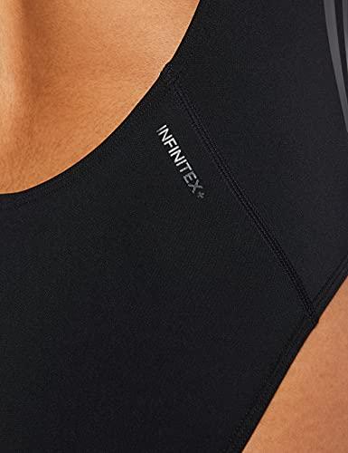 adidas Damen Pro V Badeanzug, Schwarz (Black/Carbon) - 4