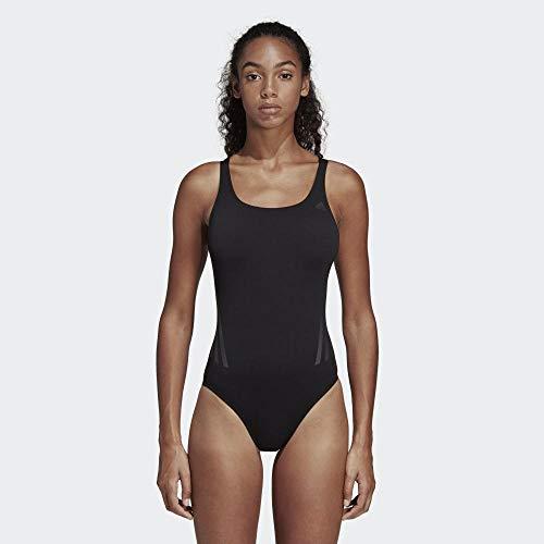 adidas Damen Pro V Badeanzug, Schwarz (Black/Carbon) - 5