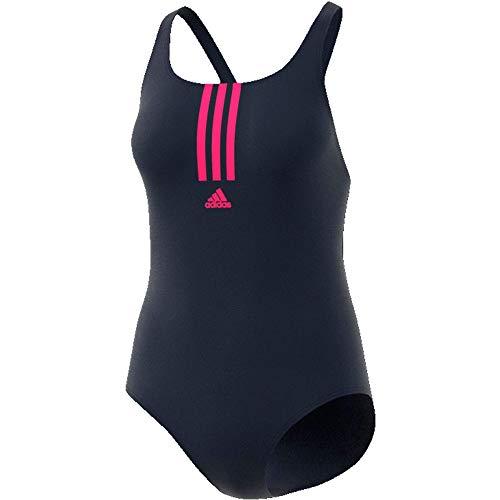 adidas Damen Badeanzug blau/pink
